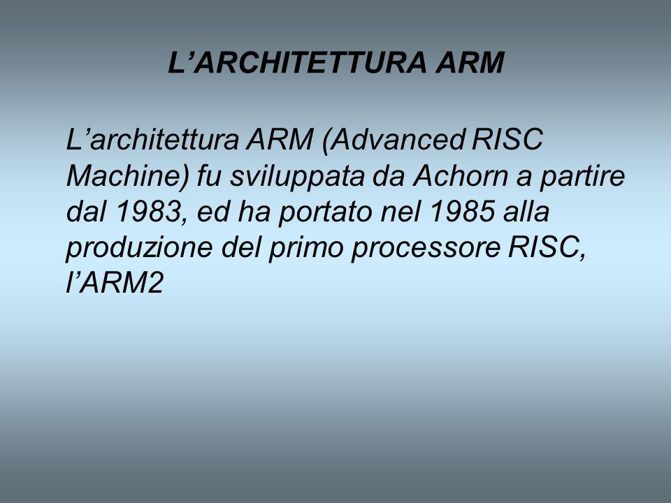 L'ARCHITETTURA ARM