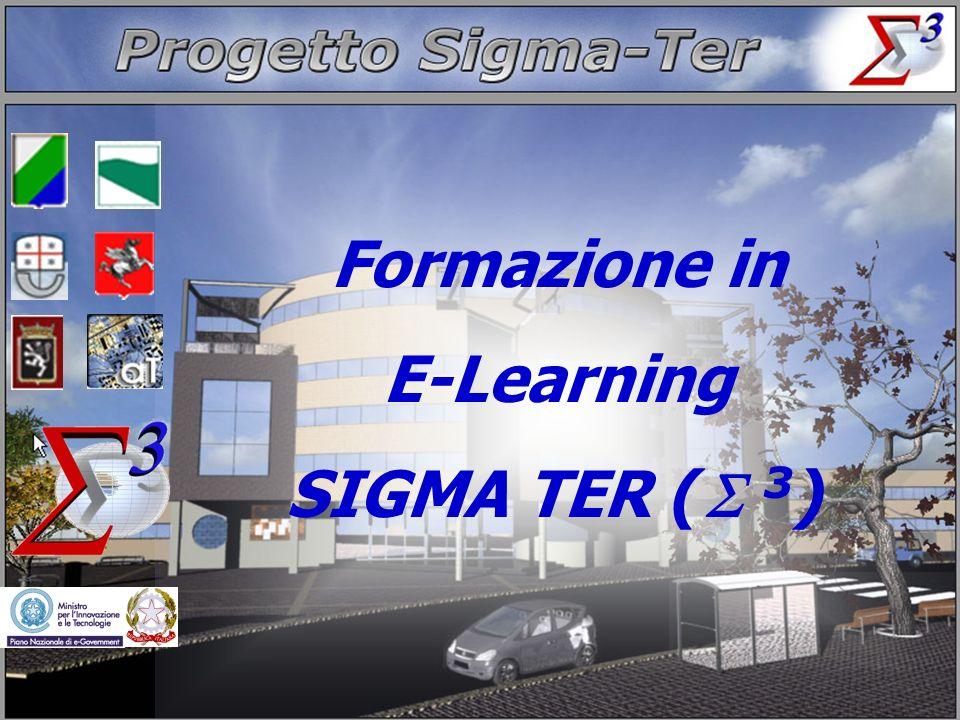 Formazione in E-Learning SIGMA TER ( 3)