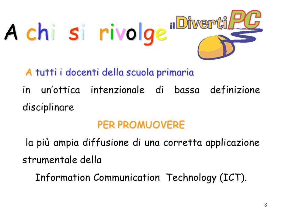 Information Communication Technology (ICT).