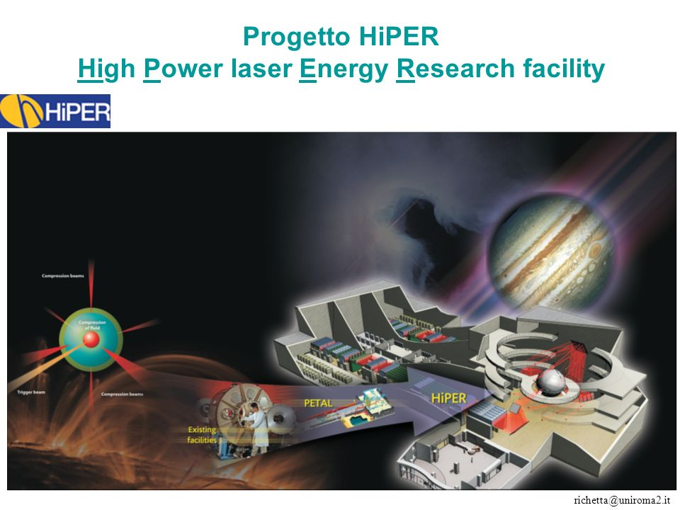 Progetto HiPER High Power laser Energy Research facility
