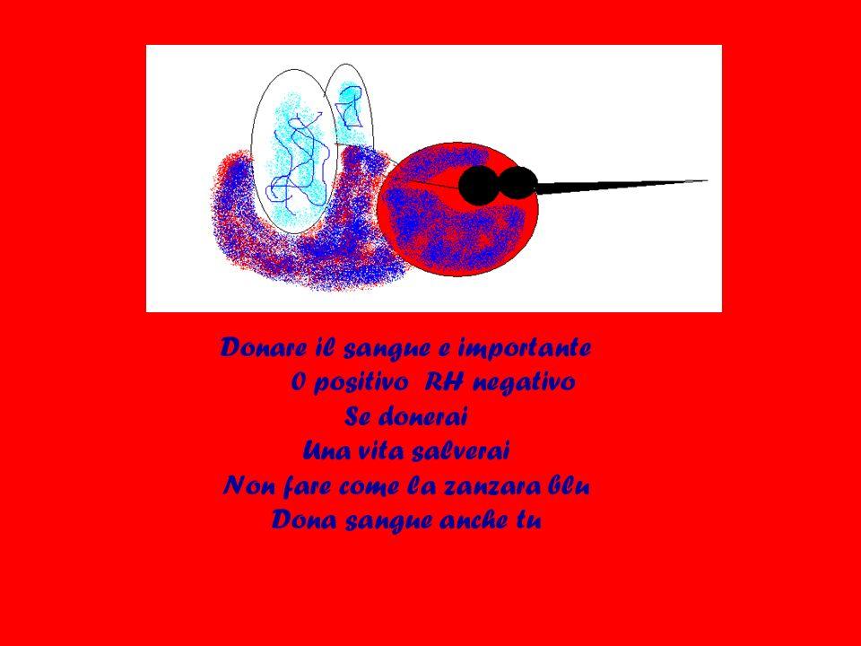 Donare il sangue e importante 0 positivo RH negativo Se donerai
