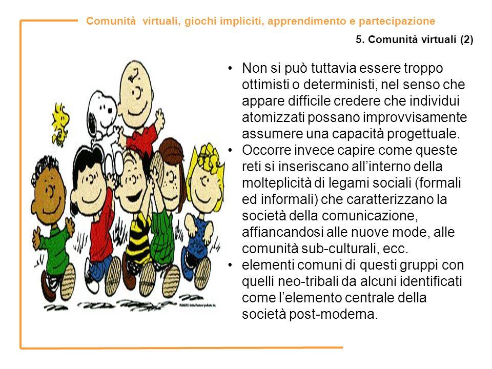 5. Comunità virtuali (2)