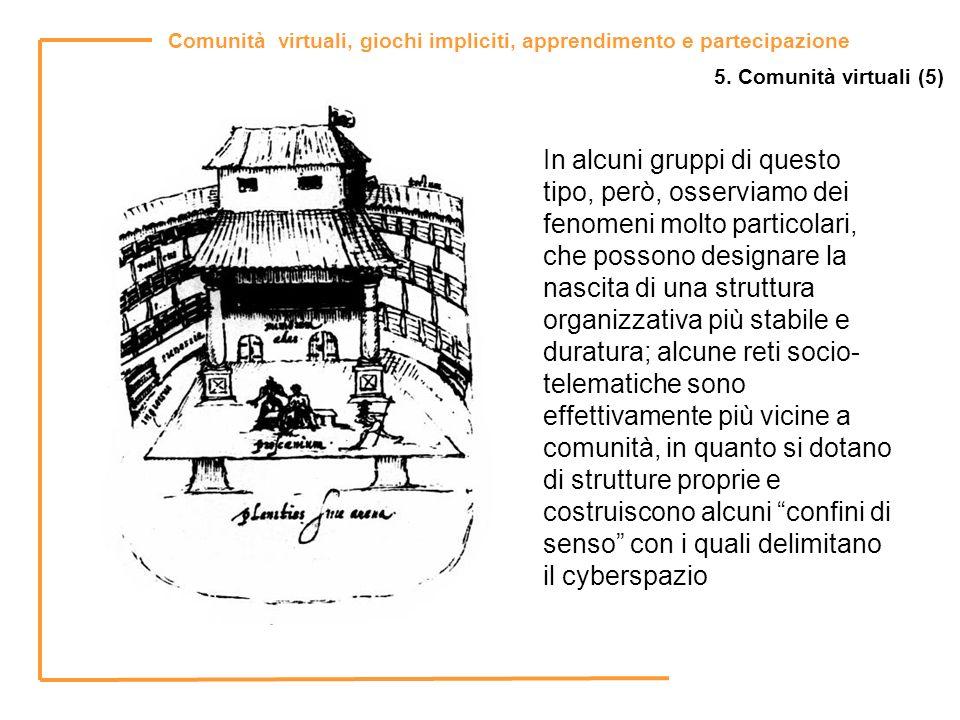 5. Comunità virtuali (5)