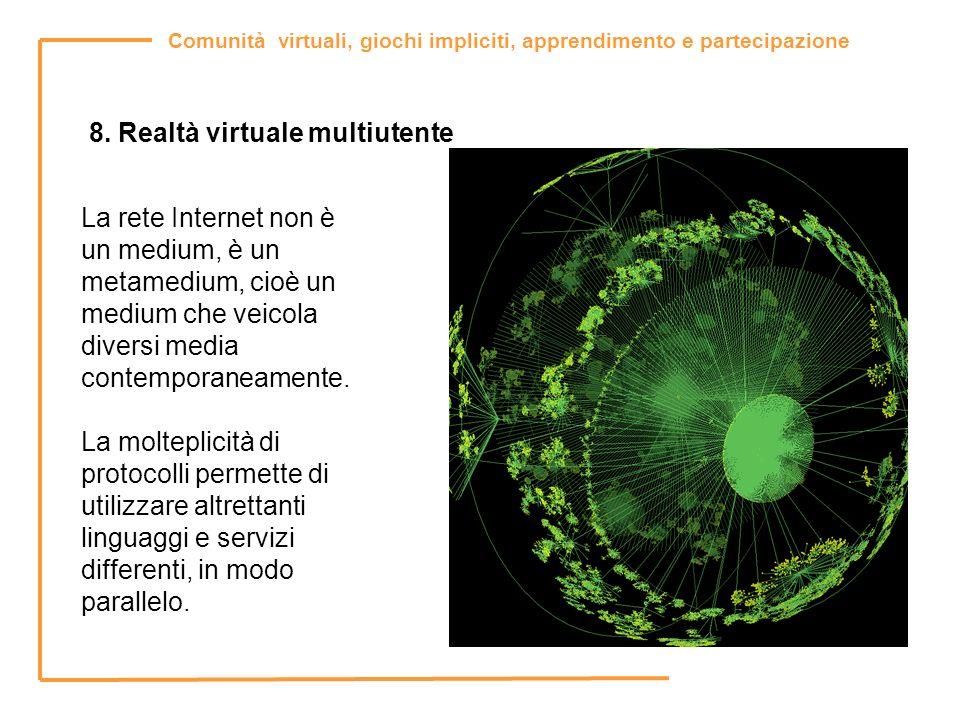 8. Realtà virtuale multiutente