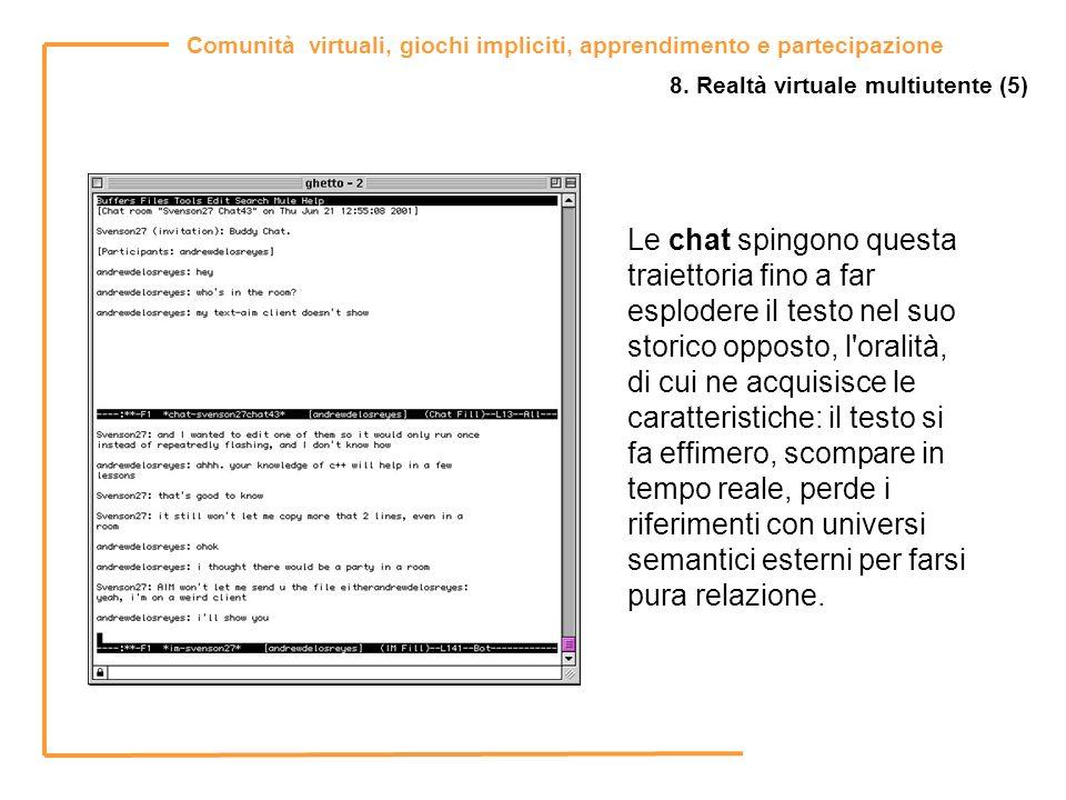 8. Realtà virtuale multiutente (5)