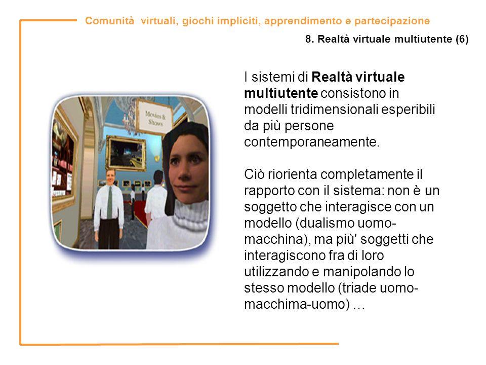 8. Realtà virtuale multiutente (6)