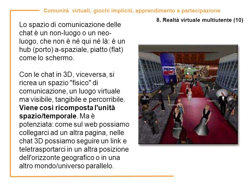 8. Realtà virtuale multiutente (10)