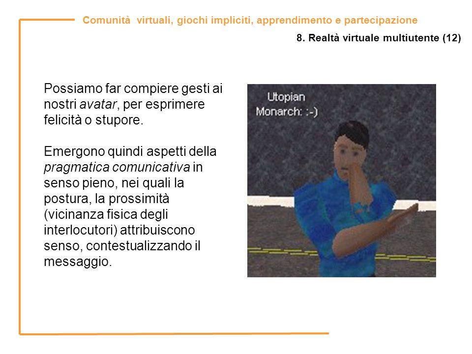 8. Realtà virtuale multiutente (12)