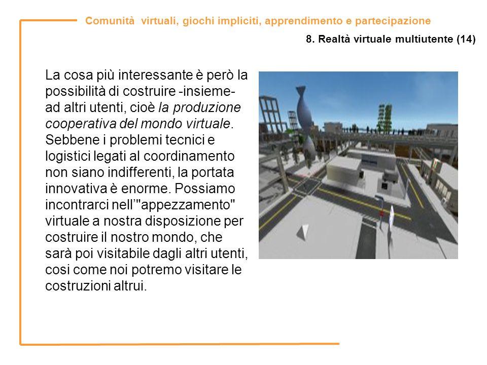 8. Realtà virtuale multiutente (14)