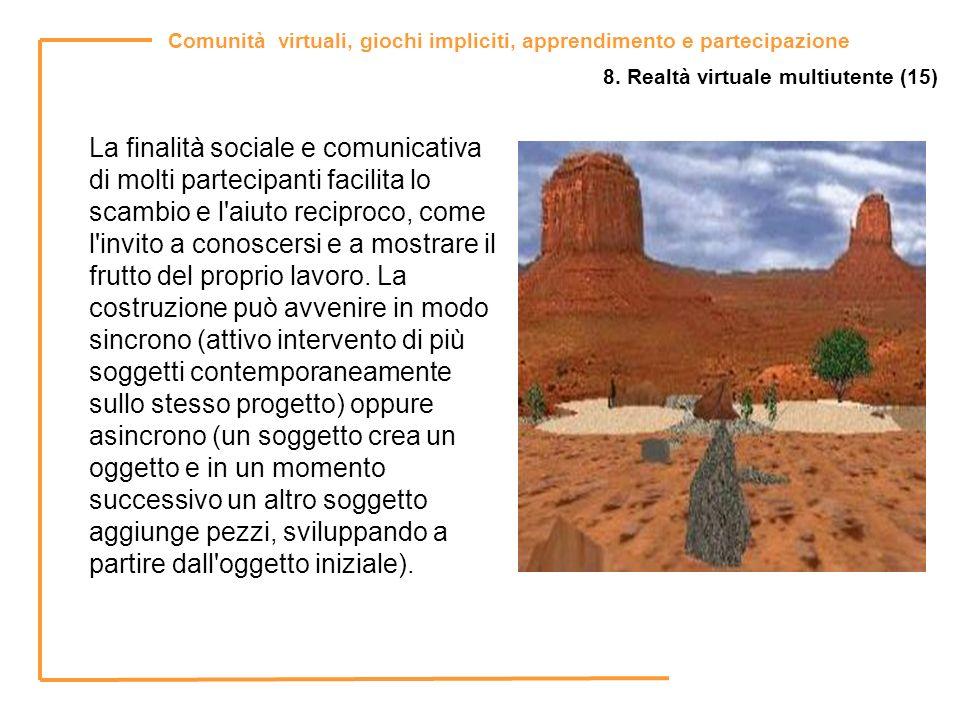 8. Realtà virtuale multiutente (15)