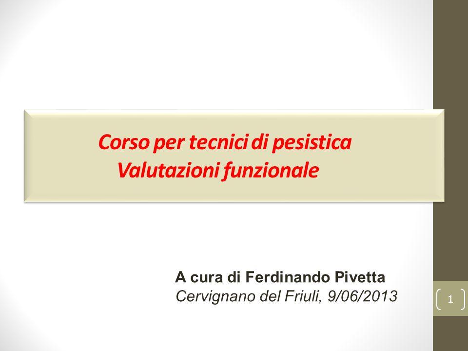 Corso per tecnici di pesistica Valutazioni funzionale