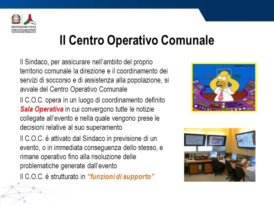 Il Centro Operativo Comunale