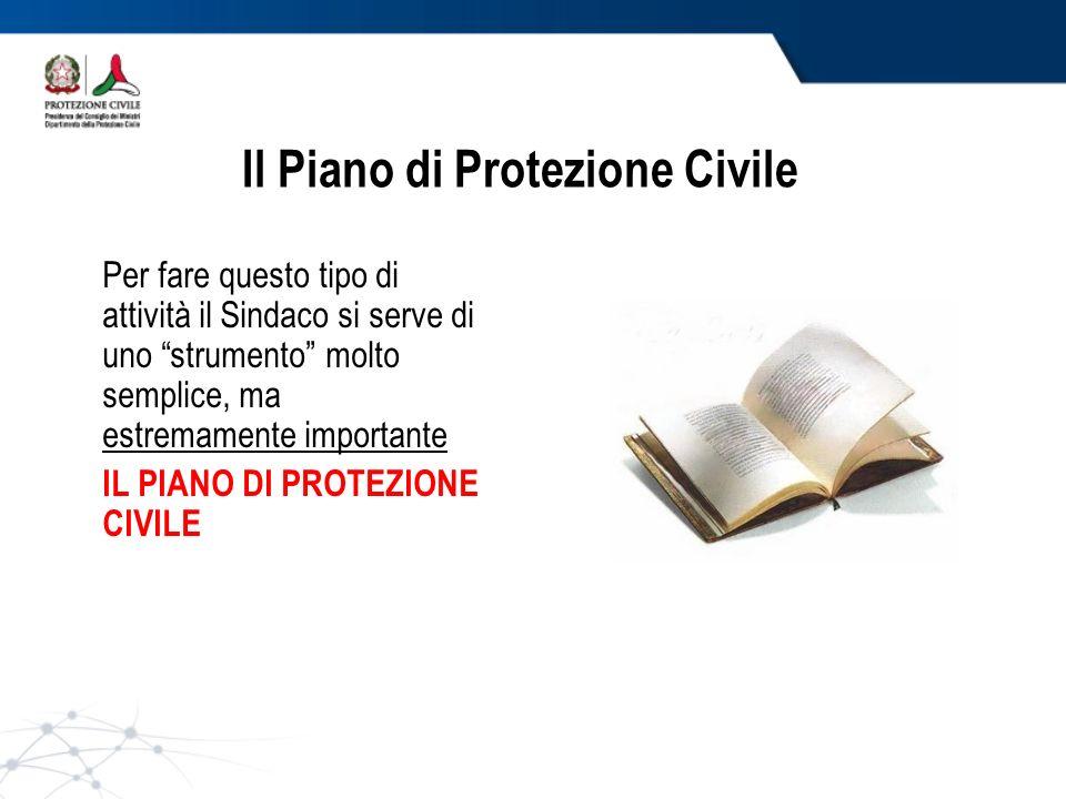 Il Piano di Protezione Civile