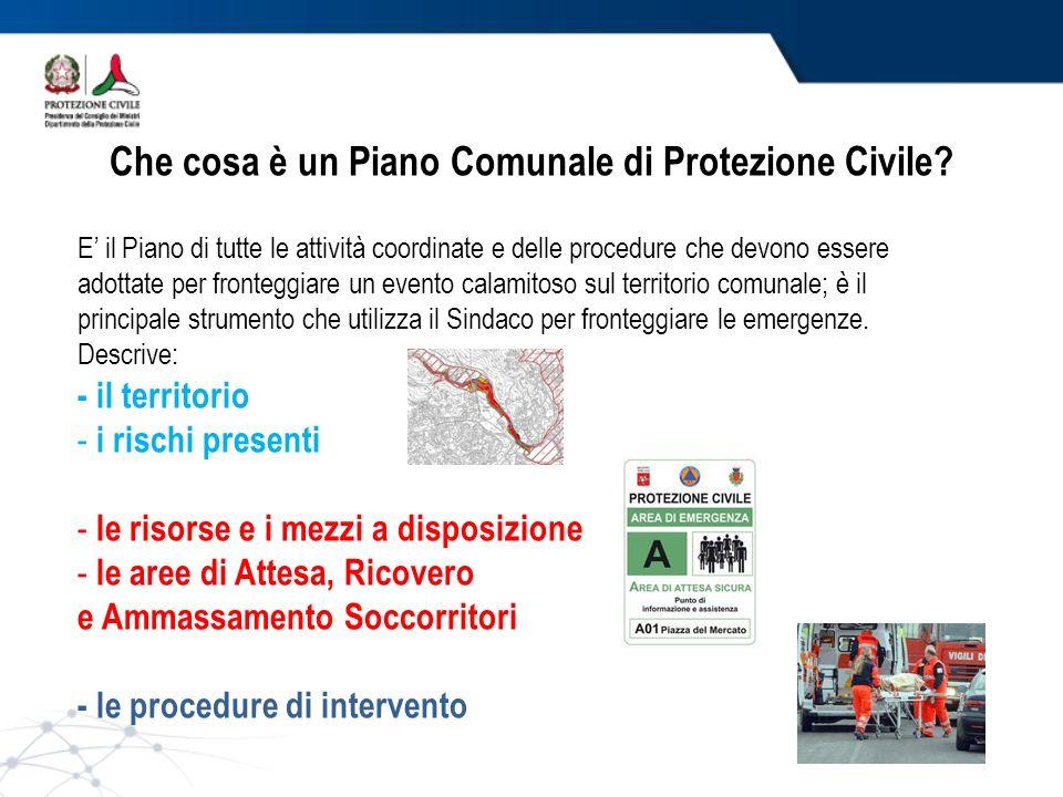 i piani di protezione civile ppt video online scaricare