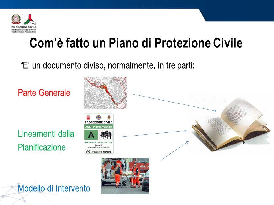 Com'è fatto un Piano di Protezione Civile
