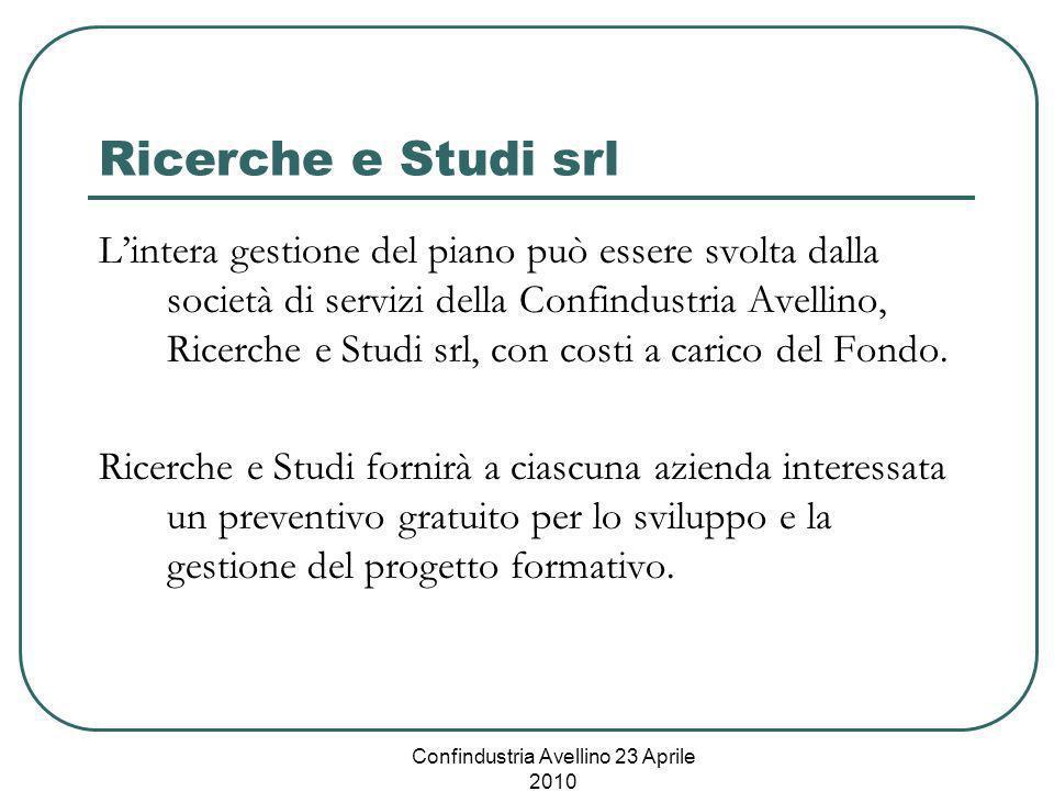 Confindustria Avellino 23 Aprile 2010