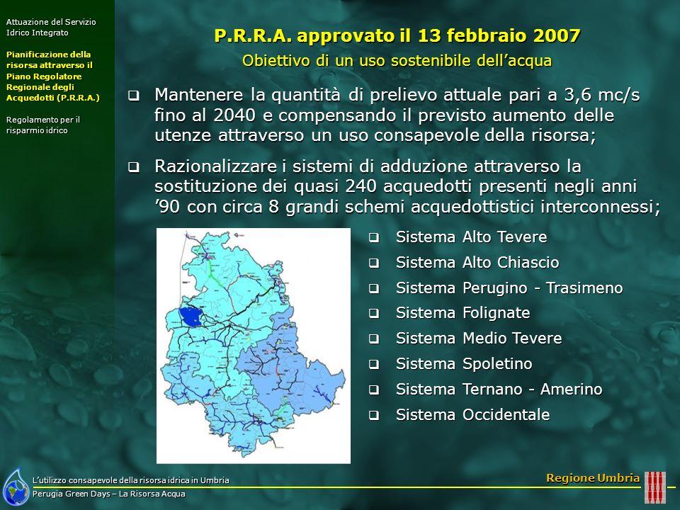 P.R.R.A. approvato il 13 febbraio 2007