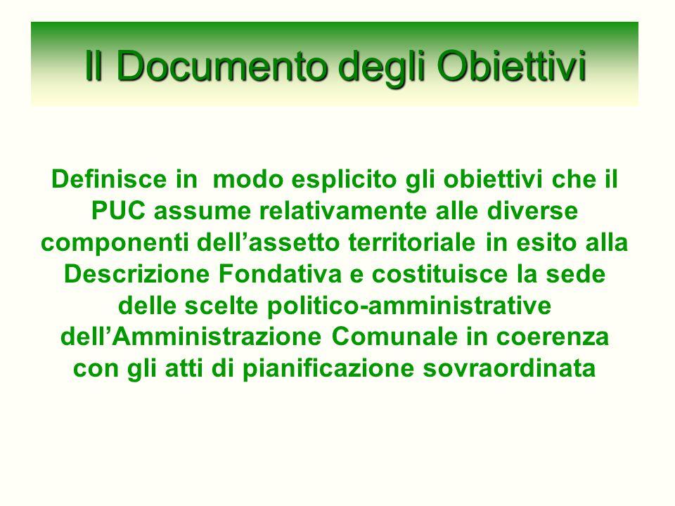 Il Documento degli Obiettivi
