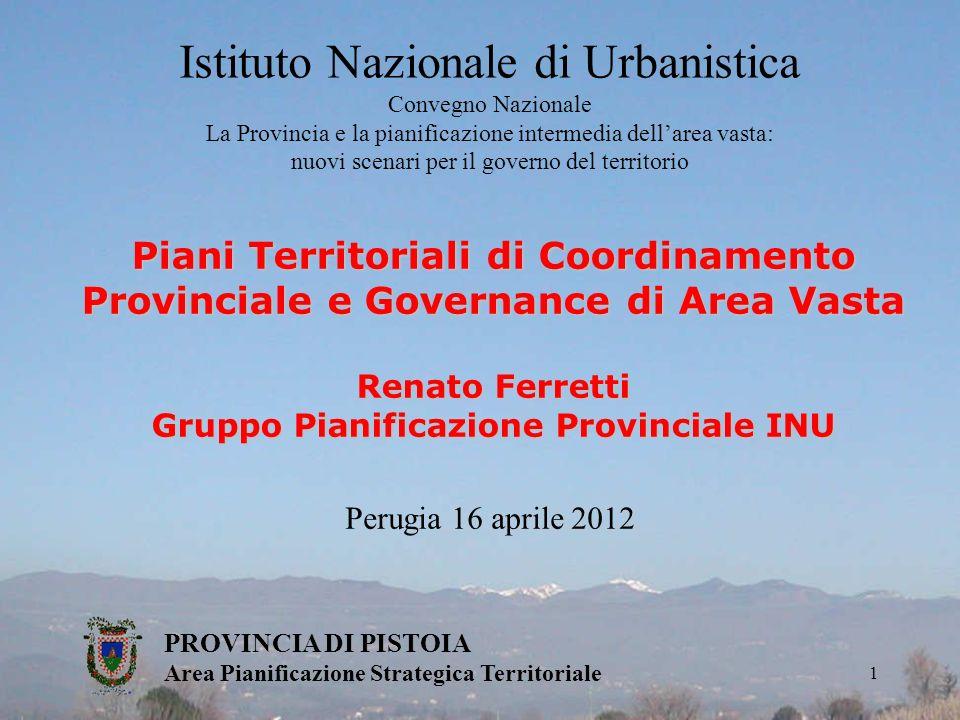 Gruppo Pianificazione Provinciale INU