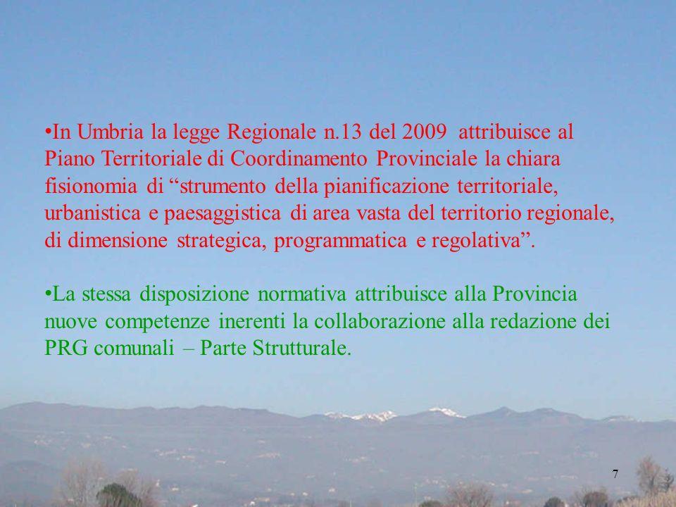 In Umbria la legge Regionale n