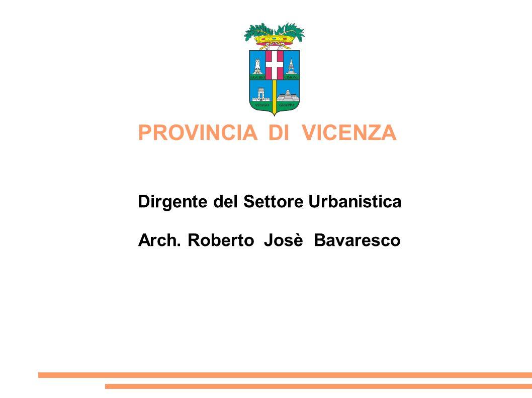 Dirgente del Settore Urbanistica Arch. Roberto Josè Bavaresco