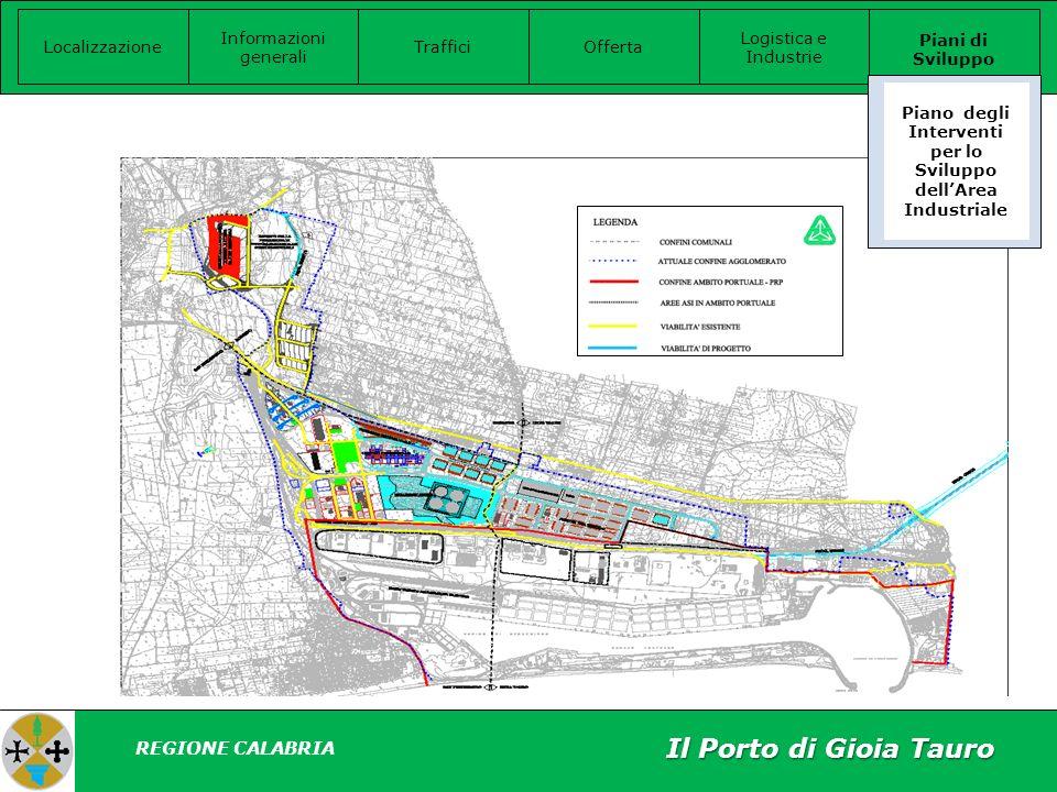 Piano degli Interventi per lo Sviluppo dell'Area Industriale