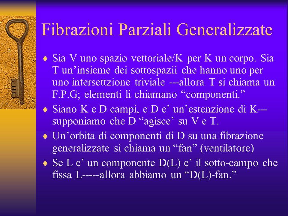 Fibrazioni Parziali Generalizzate