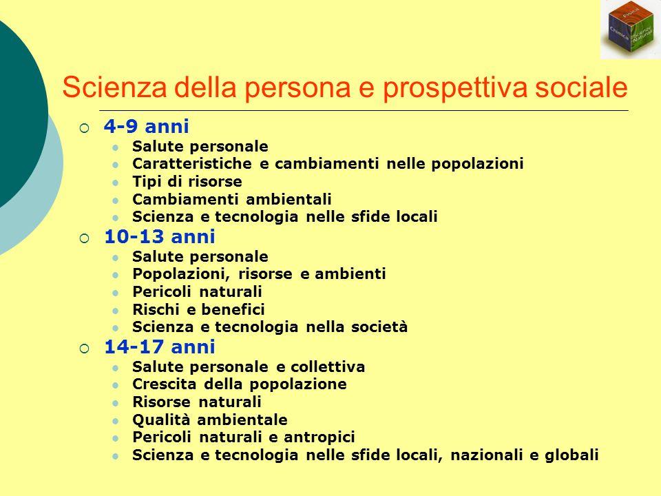 Scienza della persona e prospettiva sociale
