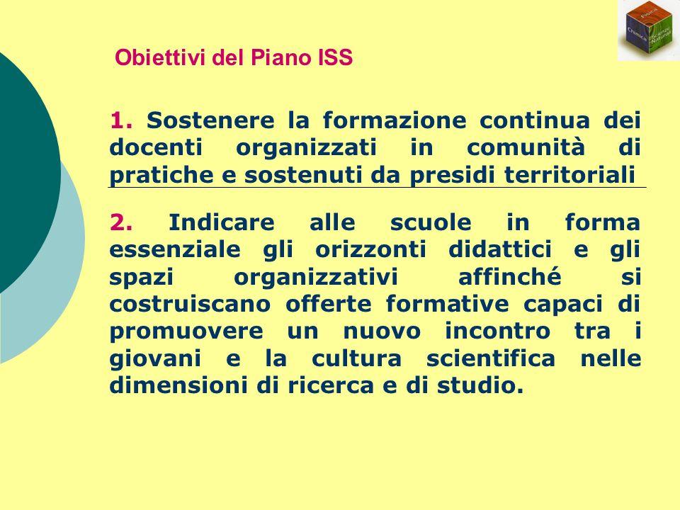 Obiettivi del Piano ISS