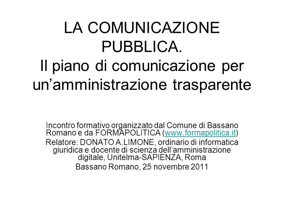 Bassano Romano, 25 novembre 2011