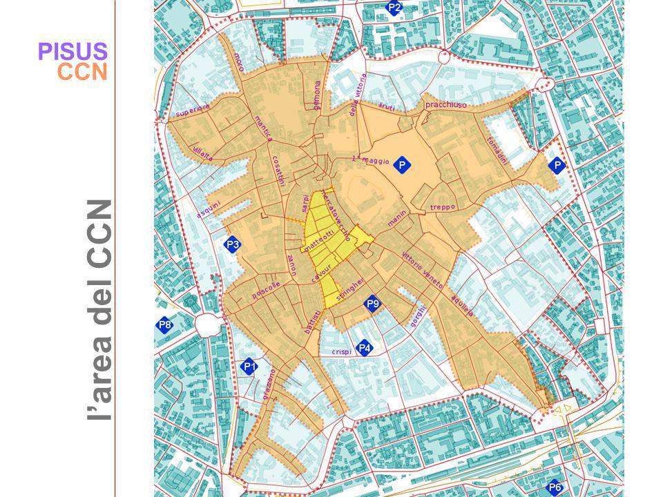 PISUS CCN l'area del CCN