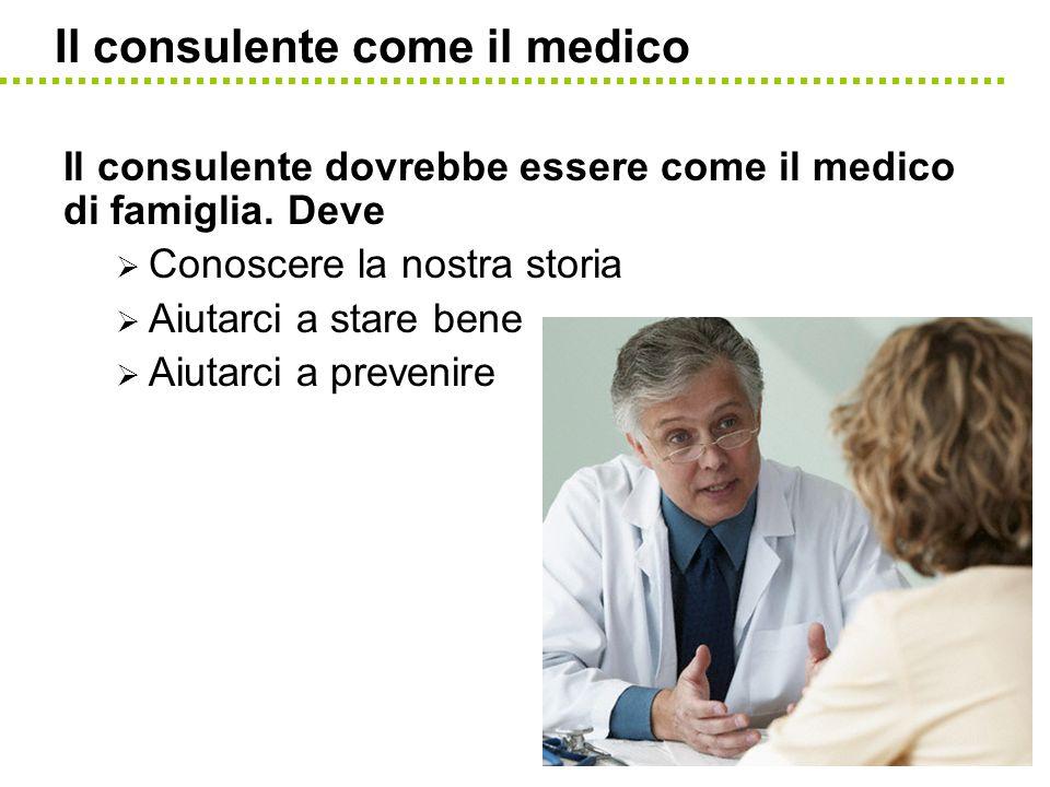 Il consulente come il medico