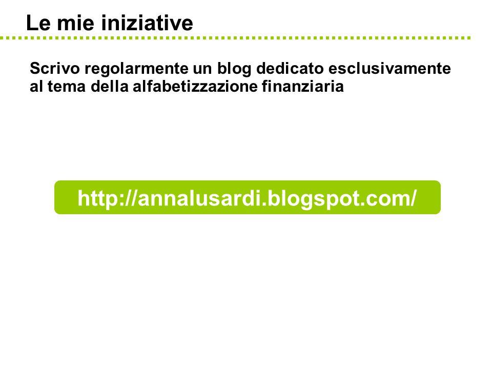 Le mie iniziative http://annalusardi.blogspot.com/
