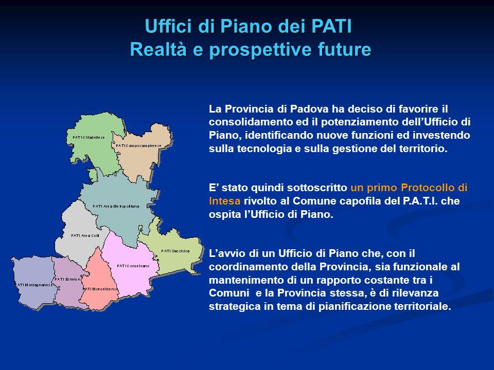 Uffici di Piano dei PATI Realtà e prospettive future