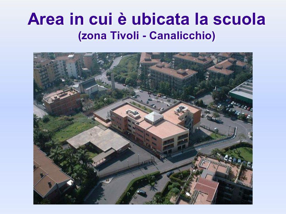 Area in cui è ubicata la scuola (zona Tivoli - Canalicchio)