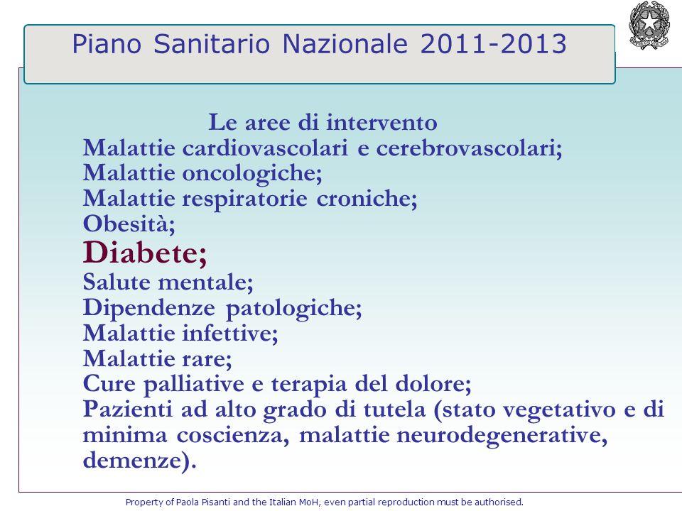 Piano Sanitario Nazionale 2011-2013