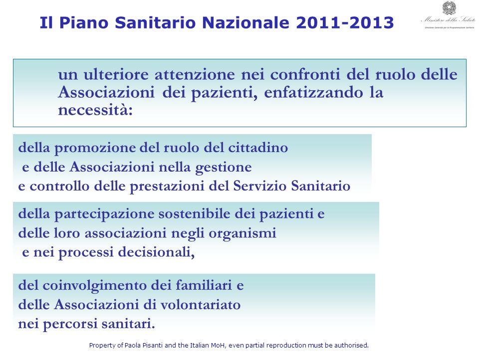 Il Piano Sanitario Nazionale 2011-2013