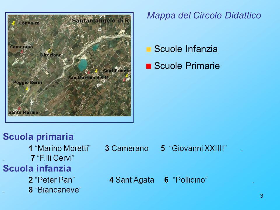 Mappa del Circolo Didattico