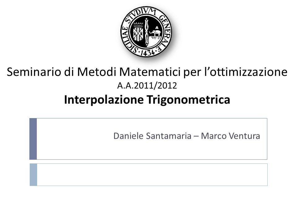 Daniele Santamaria – Marco Ventura