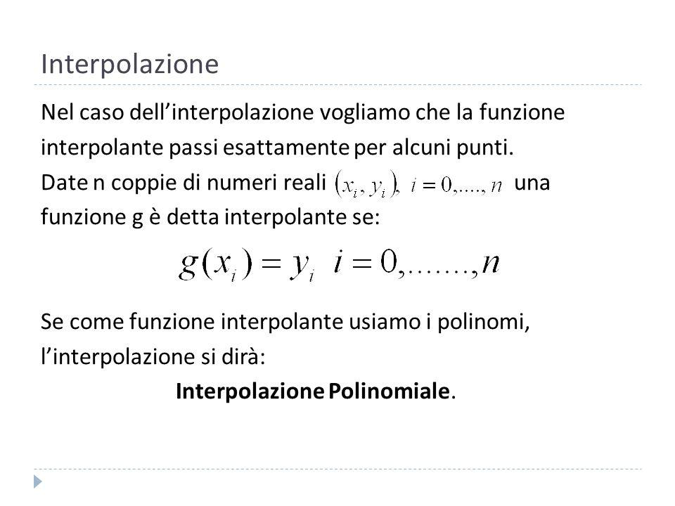 Interpolazione