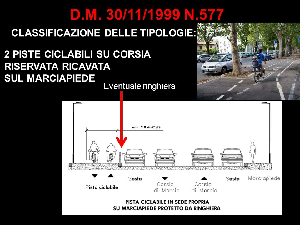 D.M. 30/11/1999 N.577 CLASSIFICAZIONE DELLE TIPOLOGIE: