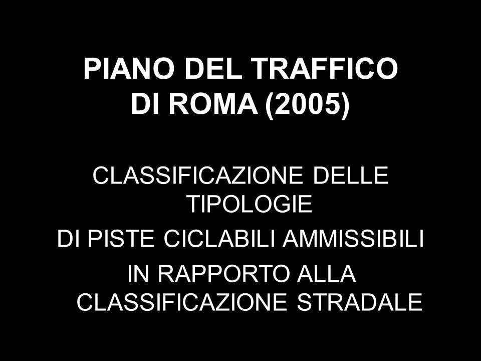 PIANO DEL TRAFFICO DI ROMA (2005)