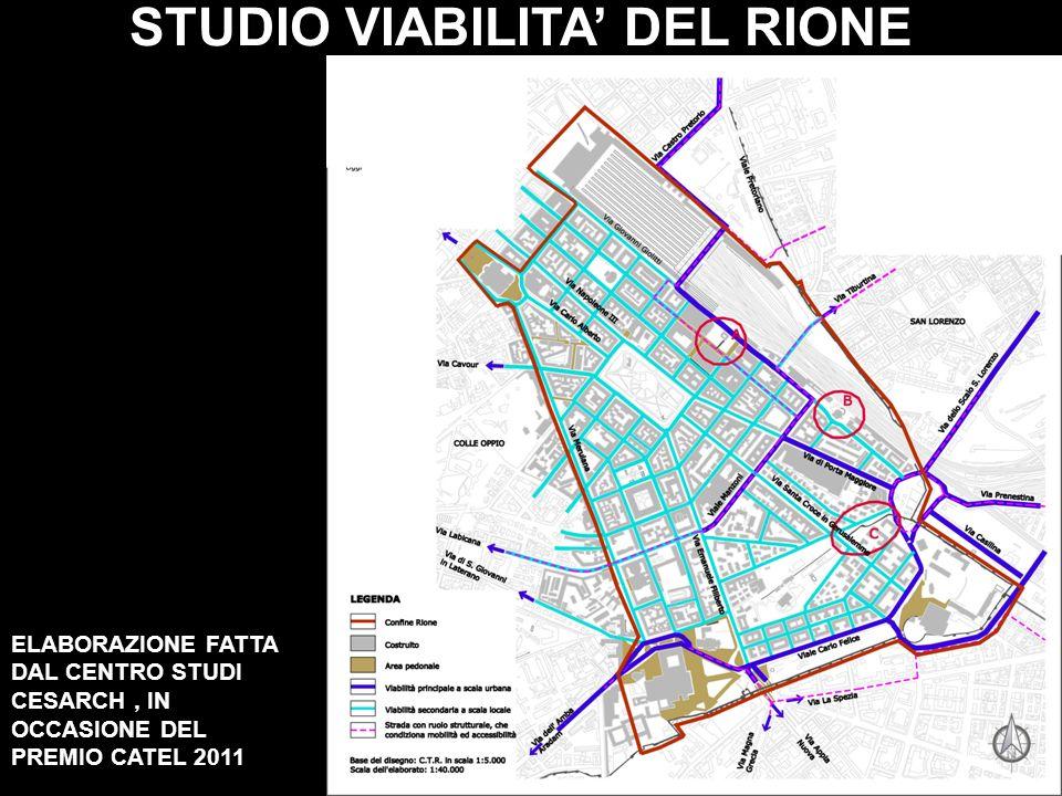 STUDIO VIABILITA' DEL RIONE