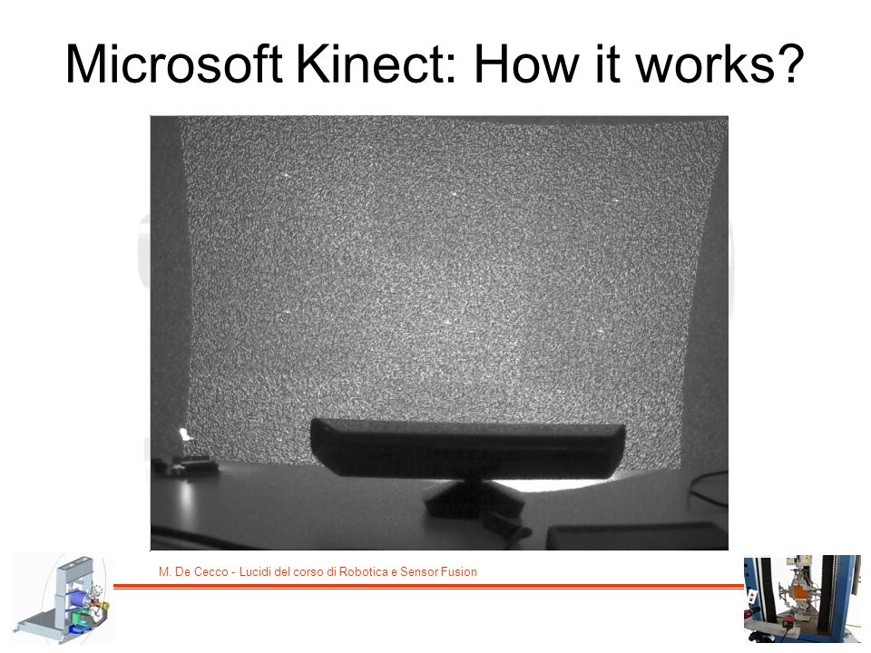 Microsoft Kinect: How it works