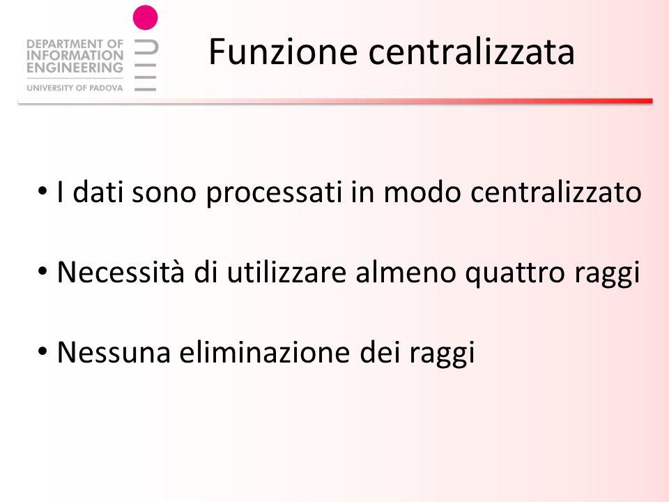 Funzione centralizzata