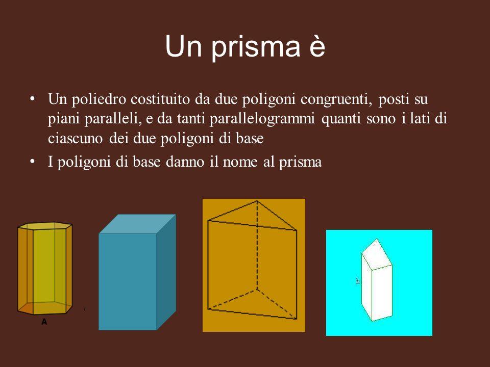 Un prisma è