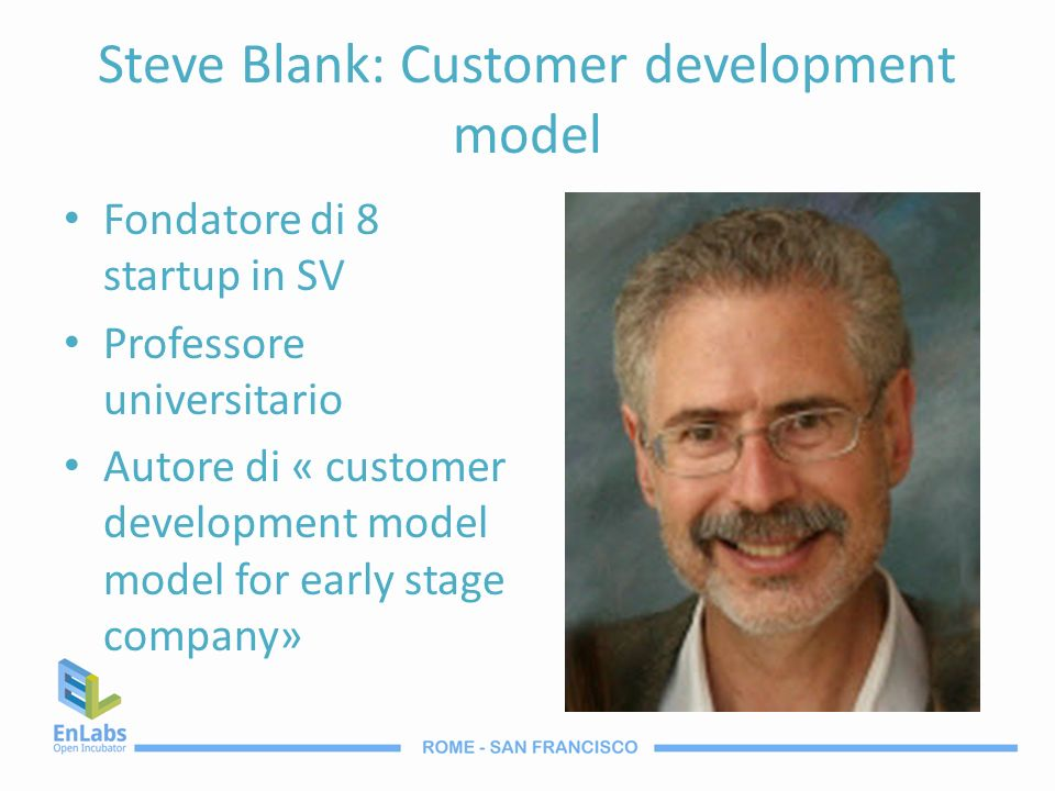 Steve Blank: Customer development model