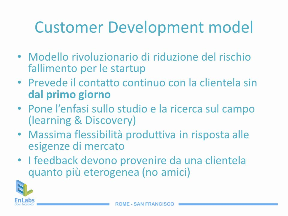 Customer Development model