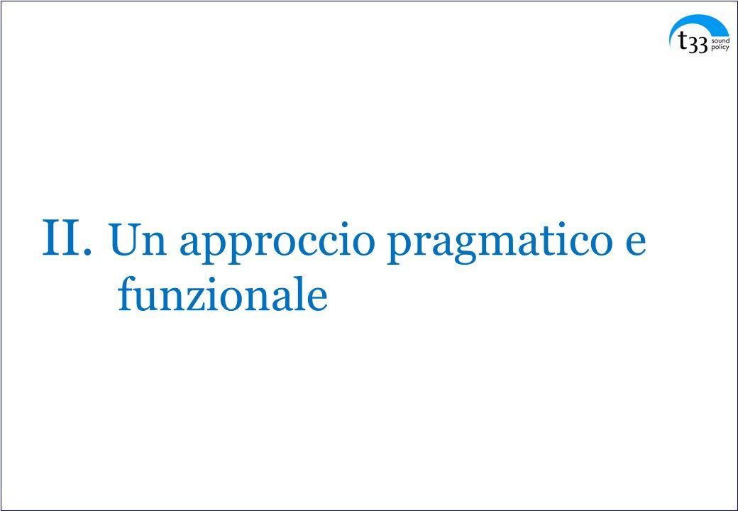 II. Un approccio pragmatico e funzionale