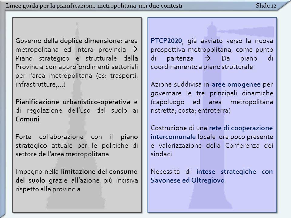 Necessità di intese strategiche con Savonese ed Oltregiovo